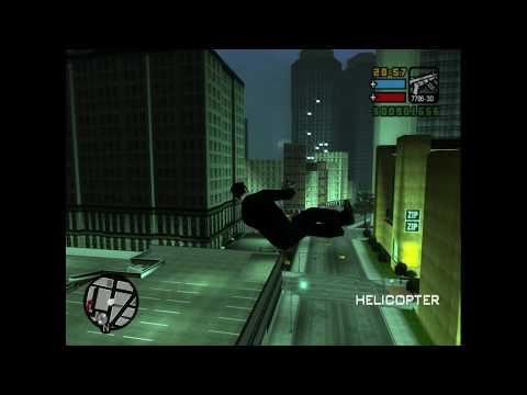 Many Ways To Fly In GTA Liberty City Stories PS2