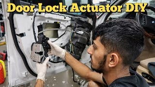 Door Lock Actuator Replacement DIY BMW E46