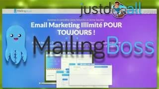 Autorépondeur illimité en un seul paiement, pas d'abonnement : MailingBoss