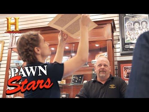 Pawn Stars: A Leaf of the Gutenberg Bible (Season 14) | History