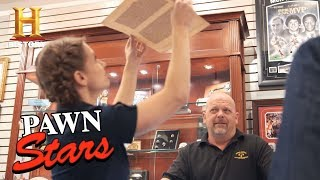 Pawn Stars: A Leaf of the Gutenberg Bible (Season 14) | History