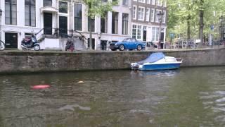 Kanavaristeilyllä Amsterdamn Hollanti 8.5.2013