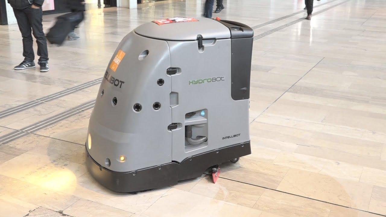 Les robots entrent en gare