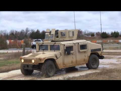 Army Humvee Drivers Training