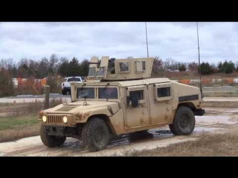 Army Humvee Drivers Training