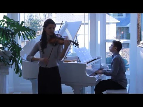 Song From a Secret Garden Violin and Piano Duet