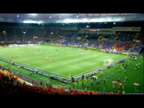 EURO 2012 PORTUGAL - HOLLAND ENTRANCE TO THE STADIUM | ВХОД НА СТАДИОН