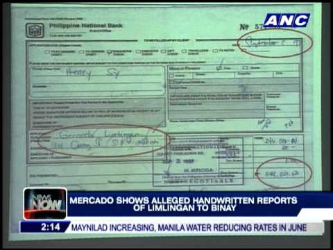 Mercado bares alleged joint accounts of Binay, dummy