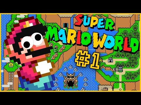 SÅ MANGE MINDER!   Super Mario World