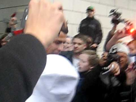 Cristiano Ronaldo Coming Out Of His Hotel