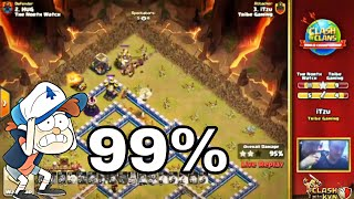 iTzu's Unluckiest 99% 2 Star War Attack in Clash of Clans World Championship - March Qualifier