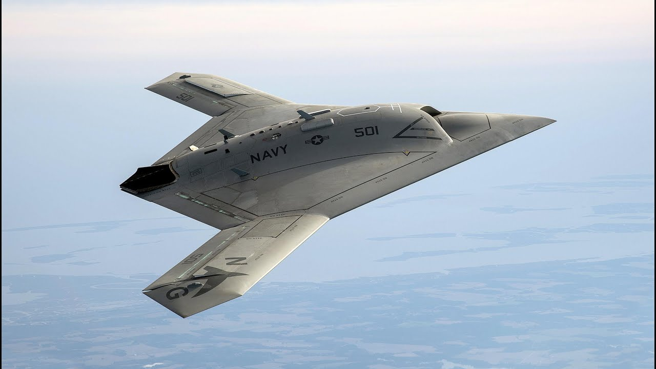 US NAVY X-47B Unmanned Combat Drone - Russia's New ...