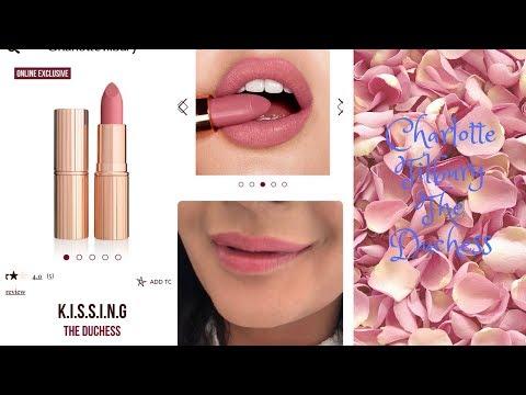 Charlotte Tilbury 'The Duchess' K.I.S.S.I.N.G Lipstick - Lip swatch/review