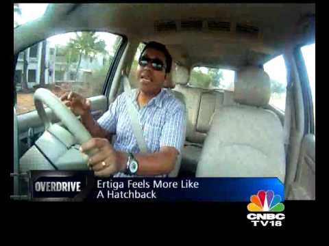 2012 Maruti Ertiga in India first drive