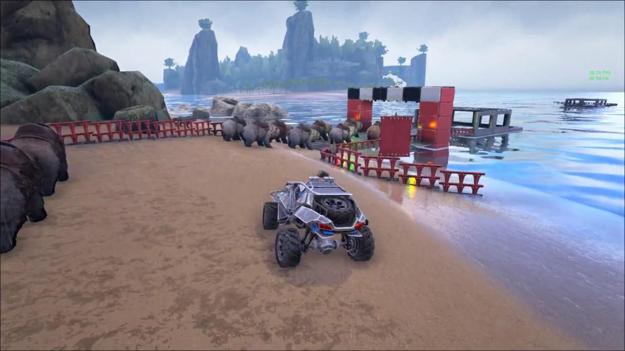 ARK: Exotica Racing Evolved - Tour de Paradis - YouTube