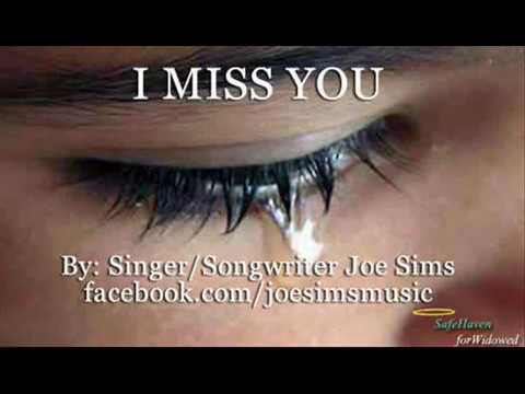 I Miss You Joe Sims