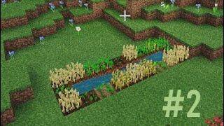 I start farming iฑ minecraft (#2) gameplay