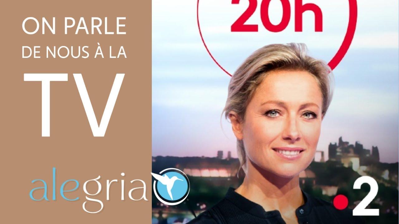 Jt 20h France 2 Alegria Salle De Sport Dediee Aux Seniors Youtube