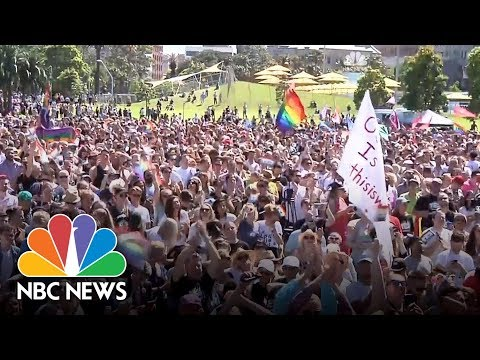 Australia Votes Yes In Same-Sex Marriage Survey | NBC News