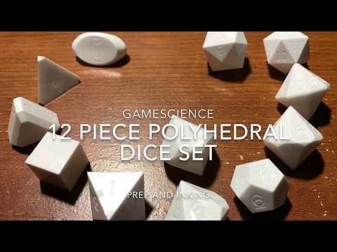 Gamescience Dice Clean, Prep, and Ink