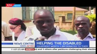 Helping The Disabled: Persons living with disability receive aid