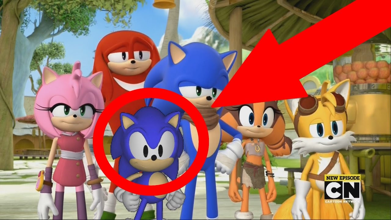 Classic Sonic In Sonic Boom Youtube