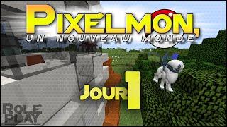 [FR] Pixelmon, un nouveau monde - Jour 1 -