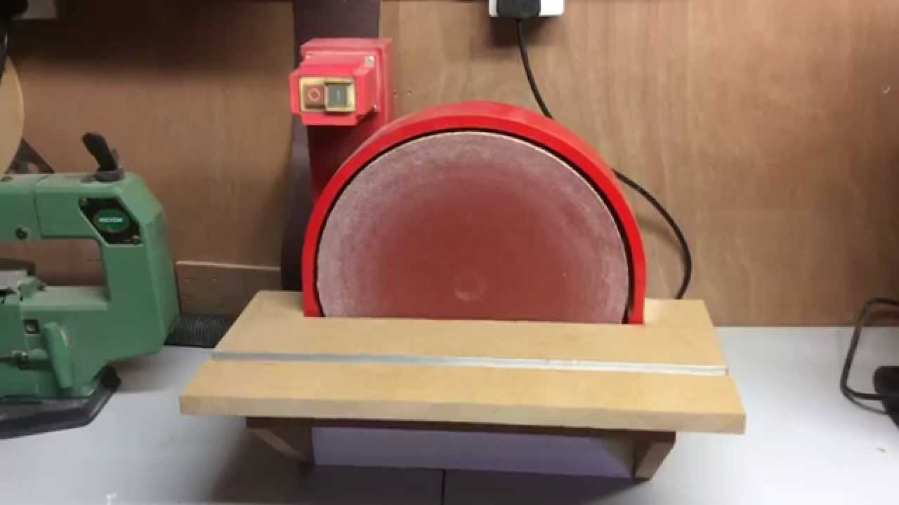 Homemade Disc Sander - YouTube on homemade thickness sander plans, homemade drum sander parts kits, homemade pipe sander plans, homemade lathe compound feed, homemade wood sander machine for, homemade edge sander plans, homemade spindle sander plans,