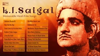 Top 18 K.L. Saigal Old Film Songs | Best of K.L. Saigal Bollywood Hits