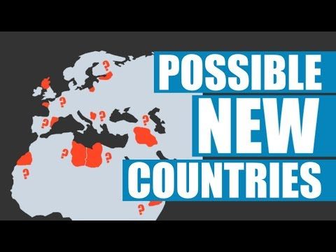 New Countries That Might Exist Soon