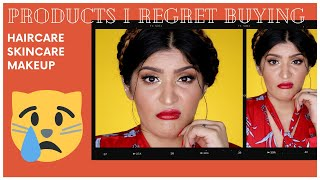 Products I Regret Buying | Haircare, Skincare | Makeup | Shreya Jain