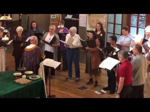 """May Today There Be Peace Within"" 10.11.15. By Sanford Dole. Saint Gregory of Nyssa Choir. Saint"