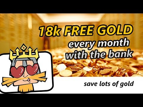 [CoK] 18k Free Gold With The Bank - Big Surprise