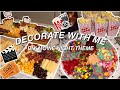 - DECORATE WITH ME│DIY MOVIE NIGHT│Charcuterie Board and Candy Board