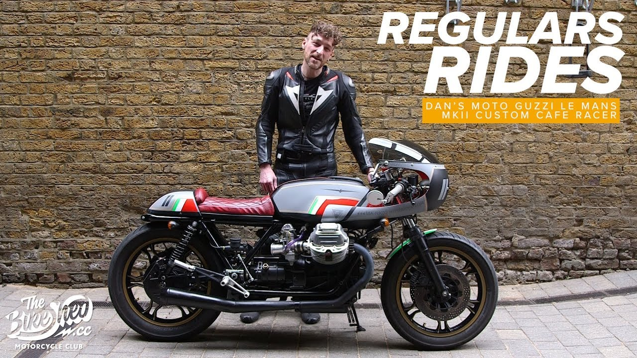 Regulas Rides Dan S Moto Guzzi Le Mans Mkii Custom Cafe Racer Youtube