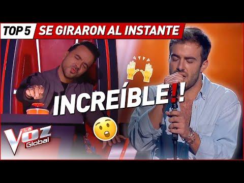 GIRARON sus SILLAS al escuchar sus IMPRESIONANTES voces en La Voz