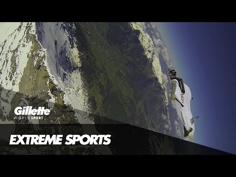 Wingsuit Flying the Eiger with Mike Swanson | Gillette World Sport