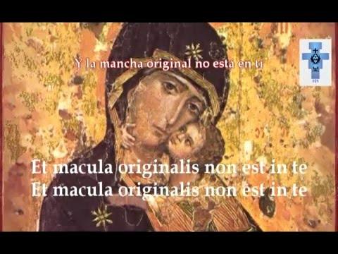 Tota Pulchra Es [Eres Toda Belleza] - Canto Gregoriano