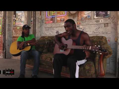 Cedric Burnside Trying Out His New Martin Guitar, Clarksdale, MS