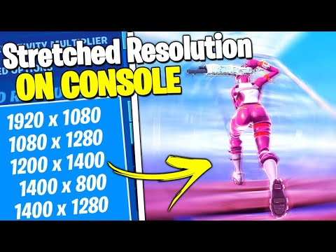 *NEW* How To Get Stretched Resolution On CONSOLE   PS4 + XBOX (Fortnite)
