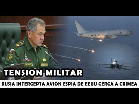 LO ULTIMO : RUSIA intercepta avión Militar de Estados Unidos cerca a su Fronteras