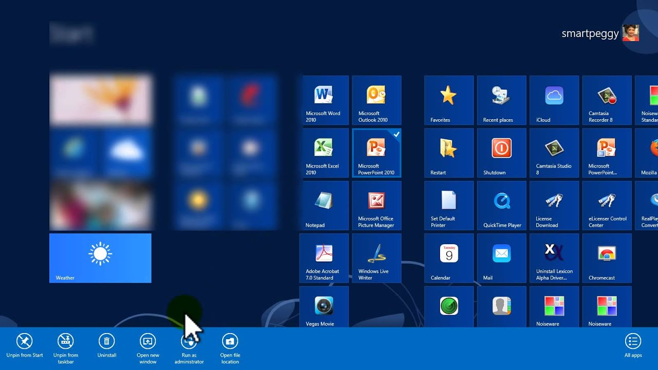 How to Find and Open a Program Fast - Windows 8 (video)
