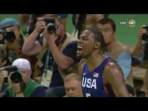 Kevin Durant - Highlights Rio 2016 Finals vs Serbia - [HD]