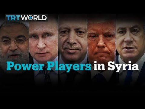 Who are the power players in the Syrian war?