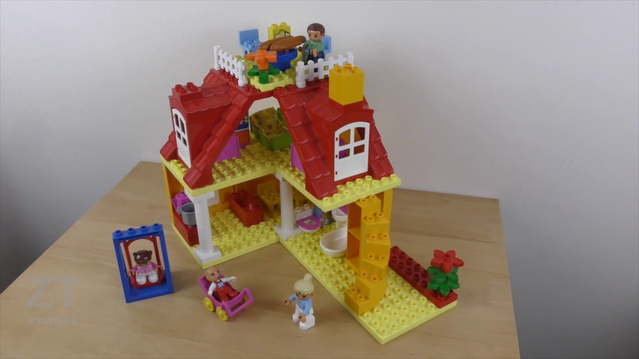 Lego Duplo Family House 5639 Review Build Instruction Youtube