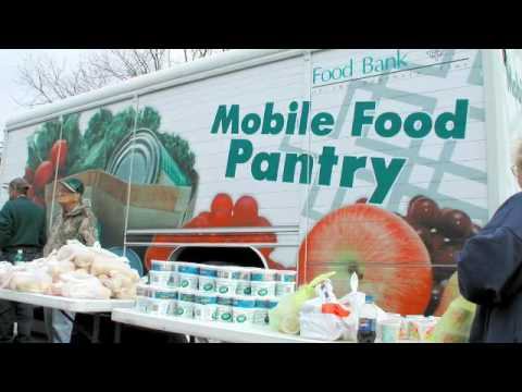 Food Bank of the Southern Tier Mobile Food Pantry YouTube