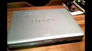 Sony VAIO VGN notebook's hard drive replace or remove
