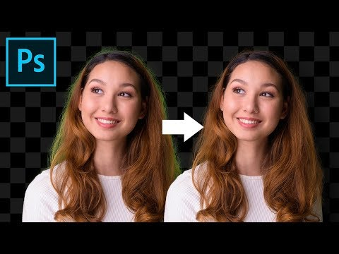 A FAST Way to Remove Color Fringing on Hair/Fur! Photoshop Tutorial