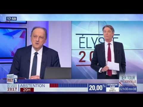 BFMTV 1800 CET intro - French Presidential Election 2017
