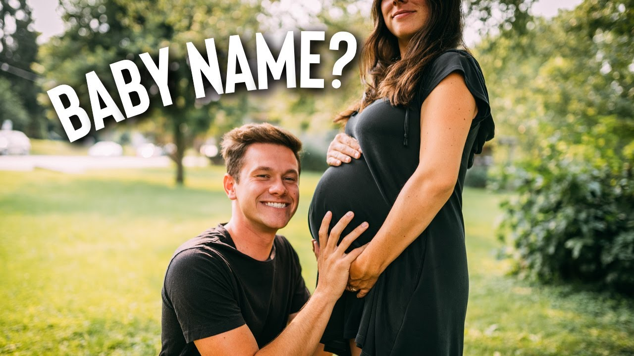 Baby Name Reveal! (maybe) + Tiny House Vlog 001